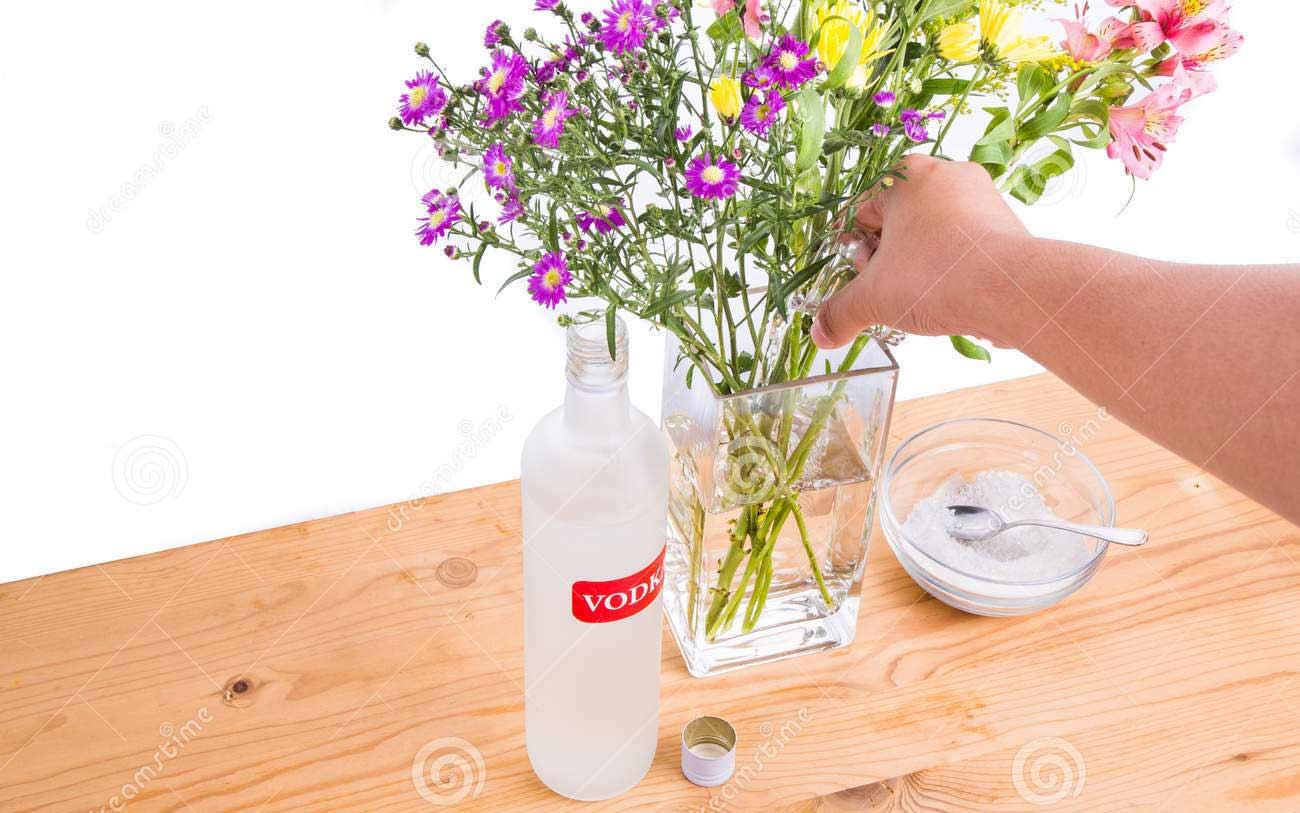 how make flower fresh